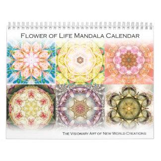 Flower of Life Mandala Calendar 2015