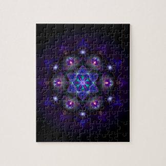 Flower Of Life Mandala Jigsaw Puzzle