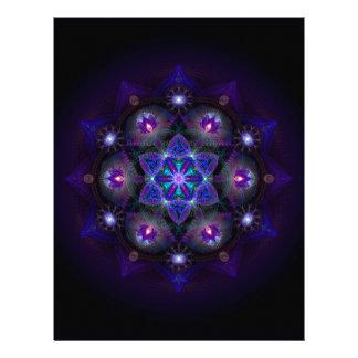 Flower Of Life Mandala Letterhead