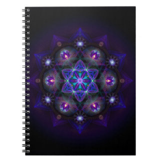 Flower Of Life Mandala Notebook