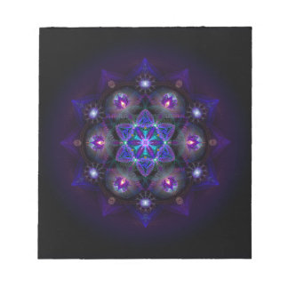 Flower Of Life Mandala Notepad