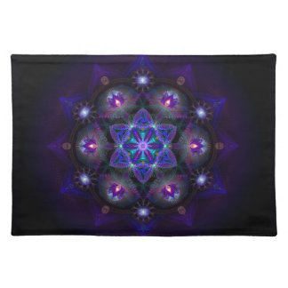 Flower Of Life Mandala Placemat