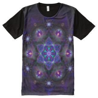Flower Of Life Mandala Print All Over Shirt