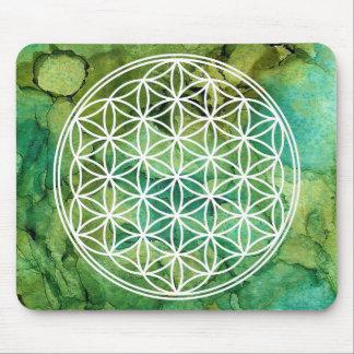 Flower of Life Mandala Sacred Geometry Mouse Pad