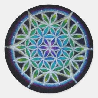 Flower of Life Mandala Sticker