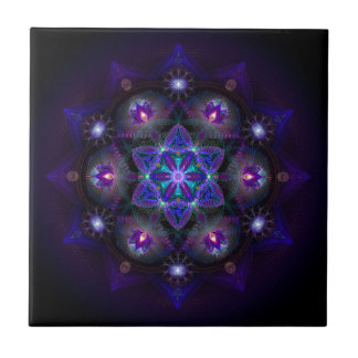 Flower Of Life Mandala Tile