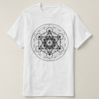 Flower of Life Metatron's Cube shirt