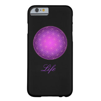 Flower of Life Monogram iphone case Barely There iPhone 6 Case