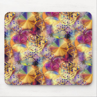 Flower of Life Mouse Pad