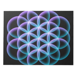 Flower of Life Notepads