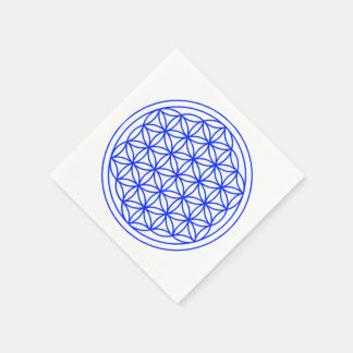 Flower of Life Paper Napkins
