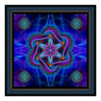 Flower Of Life Poster Poster