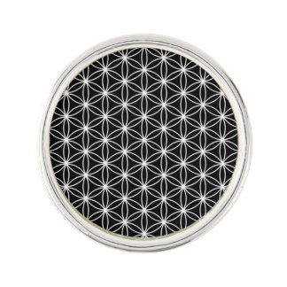 Flower Of Life Sacred Geometry Lapel Pin