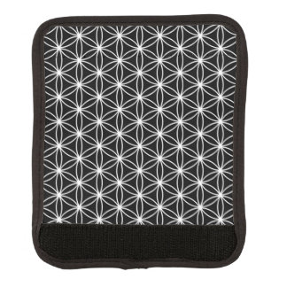 Flower Of Life Sacred Geometry Luggage Handle Wrap