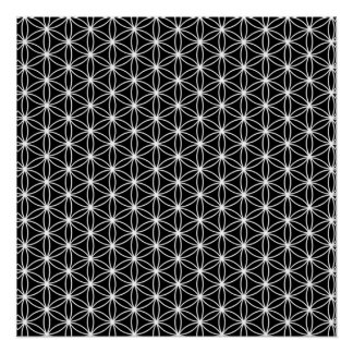 Flower Of Life Sacred Geometry Perfect Poster