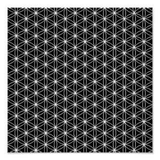 Flower Of Life Sacred Geometry Poster