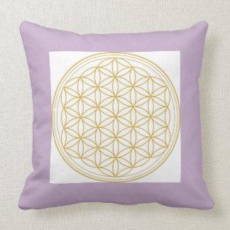 Flower Of Life Sacred Geometry Throw Pillow