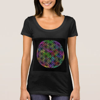 Flower Of Life Sacred Geometry Women's Shirt