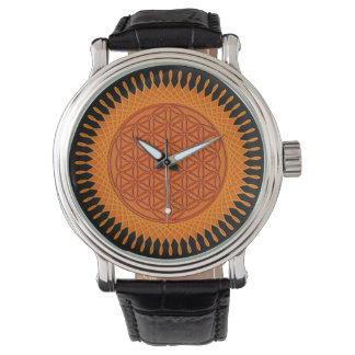 Flower of Life - Sun Spirograph Watch