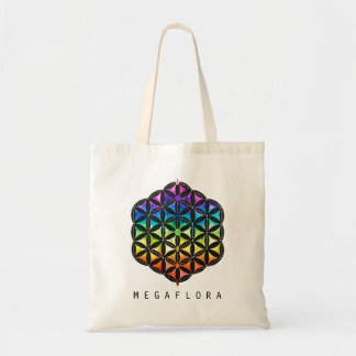 Flower of Life Tote By Megaflora