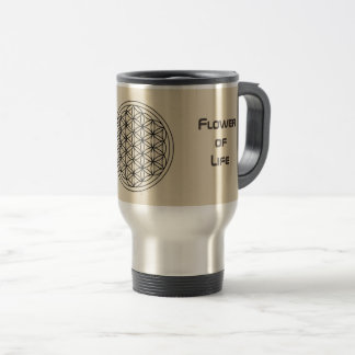 Flower of Life Travel/Commuter Mug