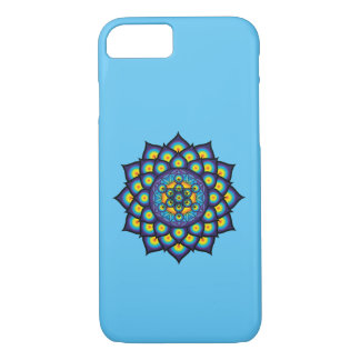 Flower of Life with Metatron's Cube iPhone 8/7 Case