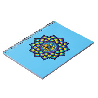 Flower of Life with Metatron's Cube Notebook
