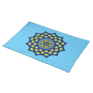 Flower of Life with Metatron's Cube Placemat