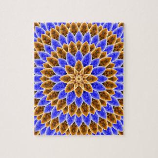 Flower of Light Mandala Puzzle