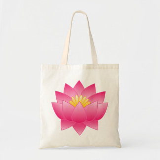 flower of lotus tote bag