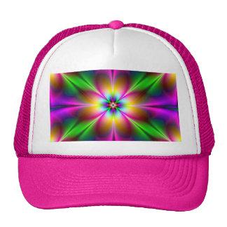 Flower of Neon Power Pink/Purple Girly 2013 Trucker Hat