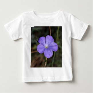 Flower of perennial or blue flax baby T-Shirt