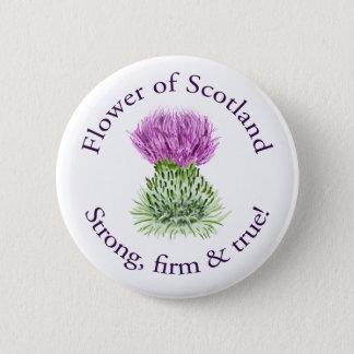 Flower of Scotland 2 Inch Round Button
