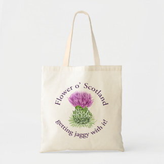Flower of Scotland - getting jaggy with it!