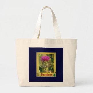 Flower Of Scotland. Large Tote Bag