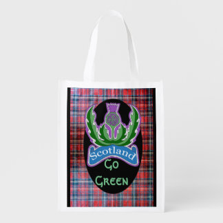 `Flower of Scotland' Reusable Grocery Bag