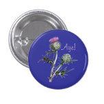 Flower of Scotland Scottish Independence Pinback Pins