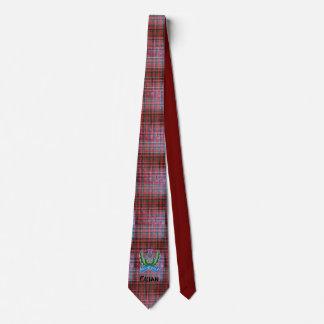 `Flower of Scotland' Tartan Neck Tie