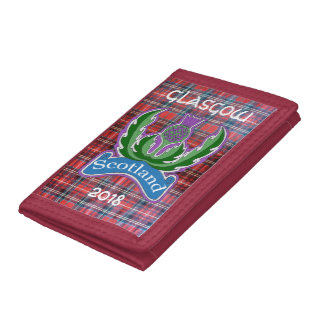 `Flower of Scotland' Tartan Tri-Fold Wallet