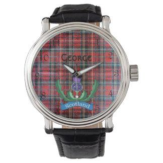 `Flower of Scotland' Wrist Watch