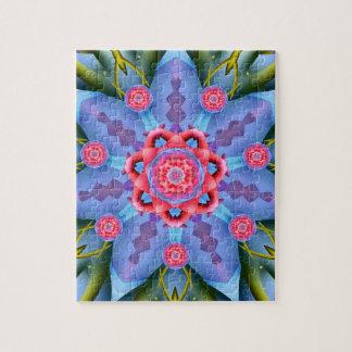 Flower of Sevens Mandala Puzzle