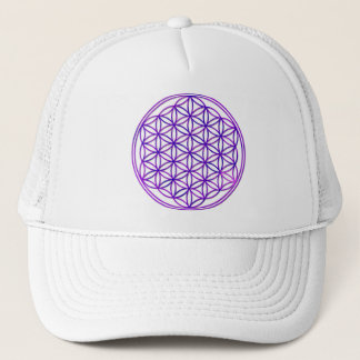 Flower of the life/Flower OF Life | pink blue Trucker Hat