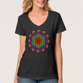 Flower of the life/Lotus/heart Chakra T-Shirt