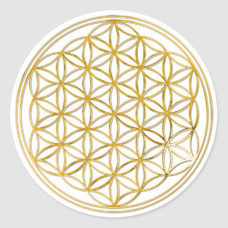 Flower of the life | small round stickers