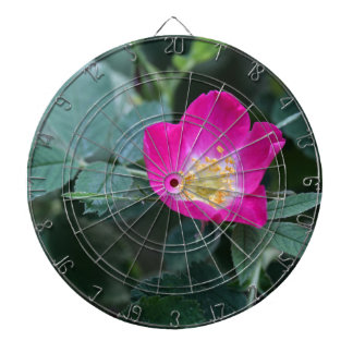 Flower of the wild Soft Downy Rose Dartboard