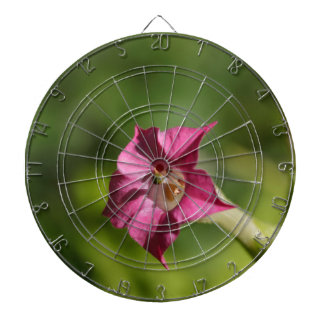 Flower of tobacco (Nicotiana tabacum) Dart Board