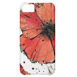 Flower on a White Background iPhone 5C Cover