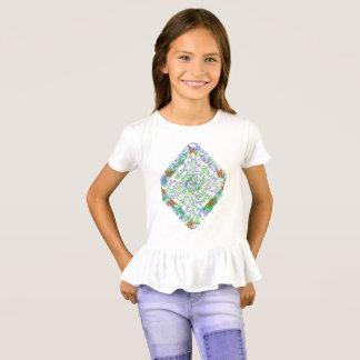 Flower Ornament Girl's t-shirt