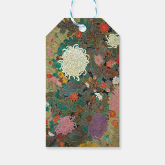 flower pack of gift tags