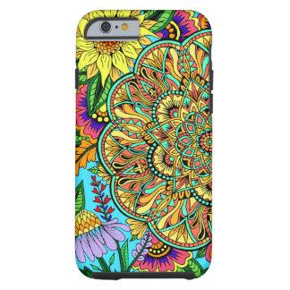 Flower Page Mandala Tough iPhone 6 Case